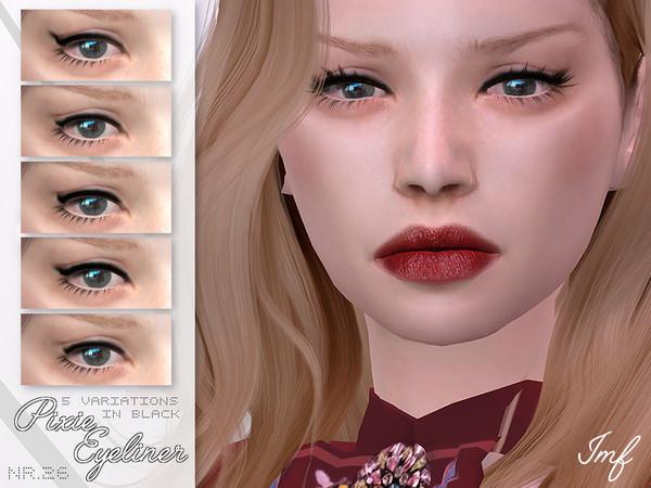 Sims 4 IMF Pixie Eyeliner N.26 by IzzieMcFire at TSR