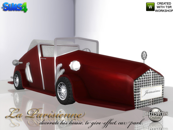Decorative car La Parisienne by jomsims at TSR image 4624 Sims 4 Updates