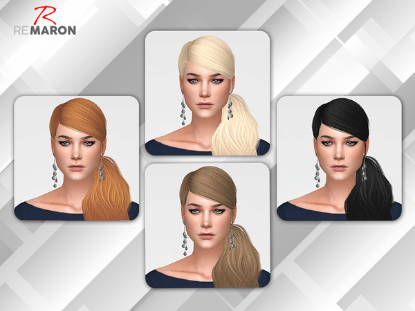 Sims 4 No Tears Left Retexture by remaron at TSR