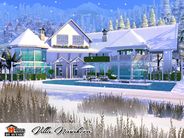 Villa Nasakorn by autaki at TSR image 4720 Sims 4 Updates