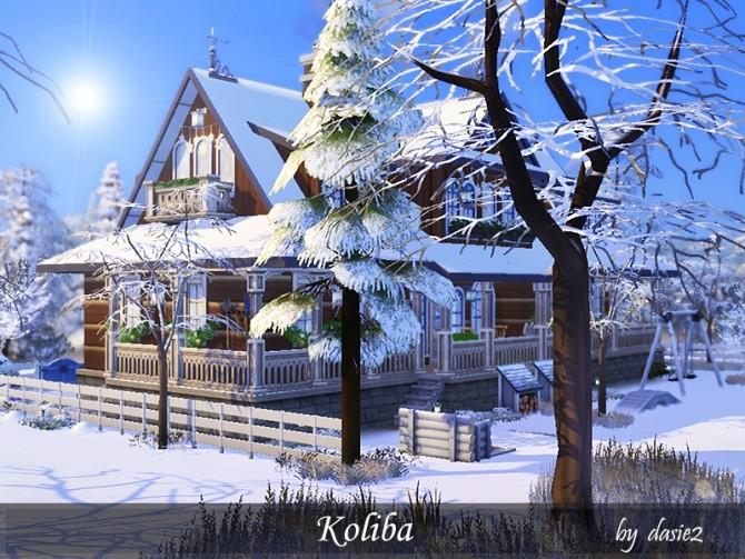 Koliba by dasie2 at TSR image 479 670x503 Sims 4 Updates