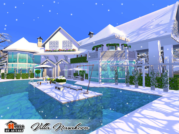 Villa Nasakorn by autaki at TSR image 4819 Sims 4 Updates