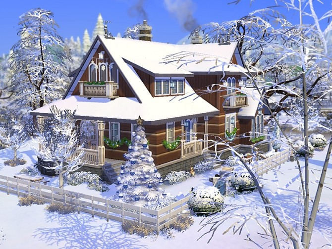 Koliba by dasie2 at TSR image 489 670x503 Sims 4 Updates