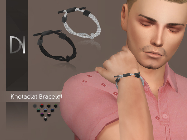 Knotaclat Bracelet by DarkNighTt at TSR image 4912 Sims 4 Updates