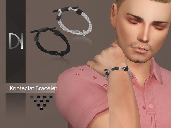 Sims 4 Knotaclat Bracelet by DarkNighTt at TSR