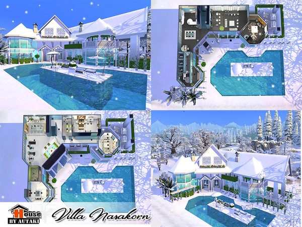 Villa Nasakorn by autaki at TSR image 4919 Sims 4 Updates
