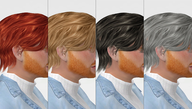 Sims 4 RUCHELLSIMS WINGS OE0818 HAIR RETEXTURE at REDHEADSIMS