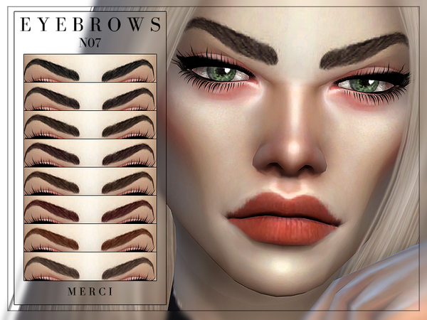 Eyebrows N07 by Merci at TSR image 5100 Sims 4 Updates