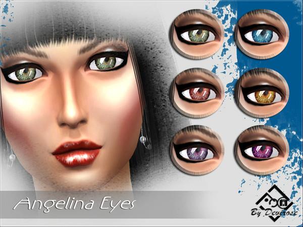 Sims 4 Angelina Eyes by Devirose at TSR