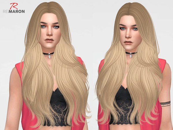 Bombshell Hair Retexture by remaron at TSR image 5110 Sims 4 Updates