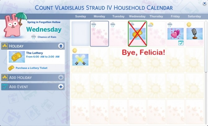 Sims 4 Surprise Holidays Be Gone by simmytime at Mod The Sims