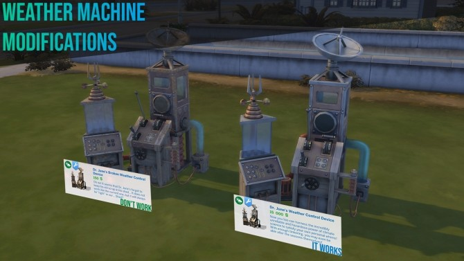 Two Weather Machine Modifications by David L89 at Mod The Sims image 547 670x377 Sims 4 Updates