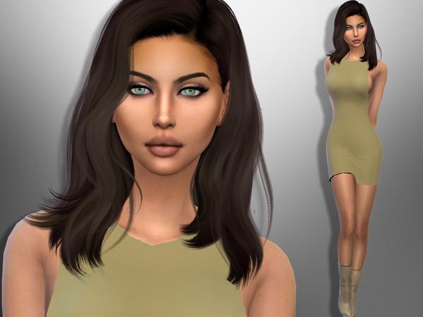 Sims 4 Sonia Marin by divaka45 at TSR