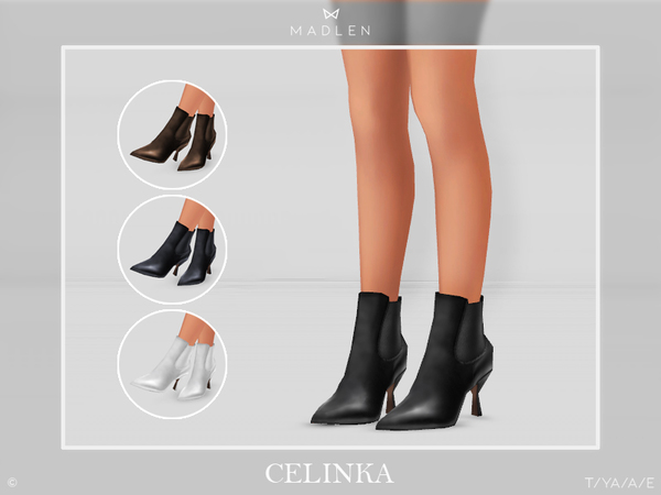 Sims 4 Madlen Celinka Boots by MJ95 at TSR