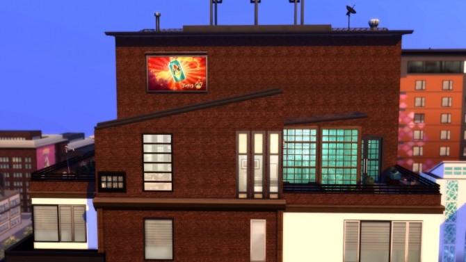 Sims 4 Loft KarinaLumi Apartment by tsukasa31 at Mod The Sims
