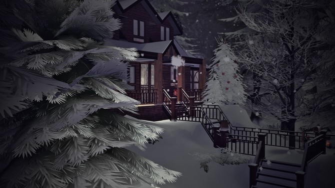 CHRISTMAS REFUGE at SoulSisterSims image 571 670x377 Sims 4 Updates
