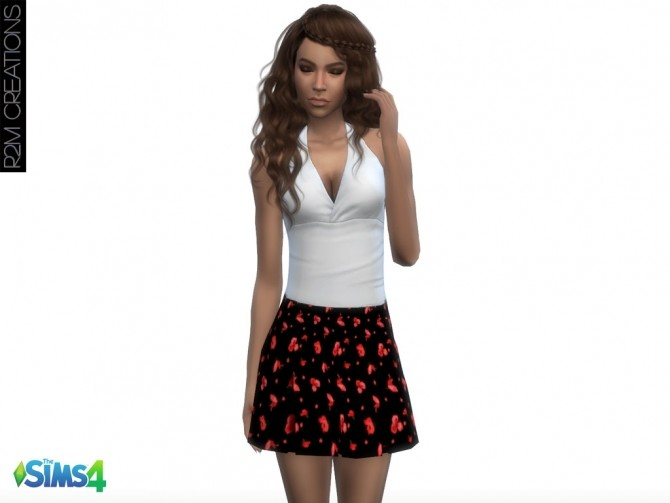Floral skirts at R2M Creations image 5711 670x503 Sims 4 Updates