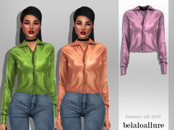 Belaloallure Eleanor Shirt By Belal1997 At Tsr Sims 4 Updates