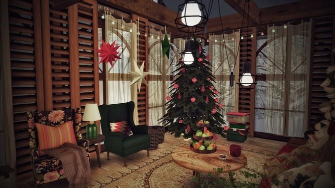 Sims 4 CHRISTMAS REFUGE at SoulSisterSims
