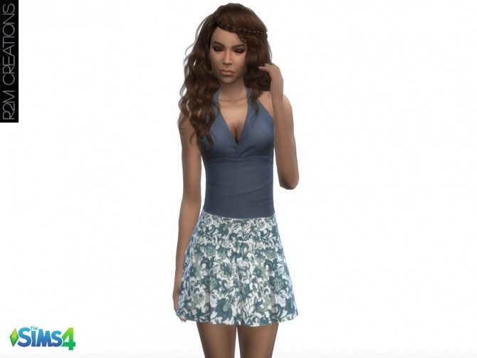 Floral skirts at R2M Creations image 5811 670x503 Sims 4 Updates