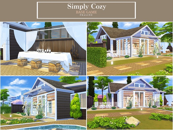Simply Cozy house by Pralinesims at TSR image 586 Sims 4 Updates