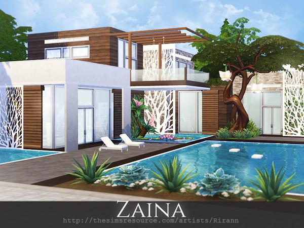 Zaina house by Rirann at TSR image 5912 Sims 4 Updates