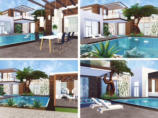 Zaina house by Rirann at TSR image 6010 Sims 4 Updates