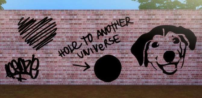 Sims 4 Graffiti at Descargas Sims