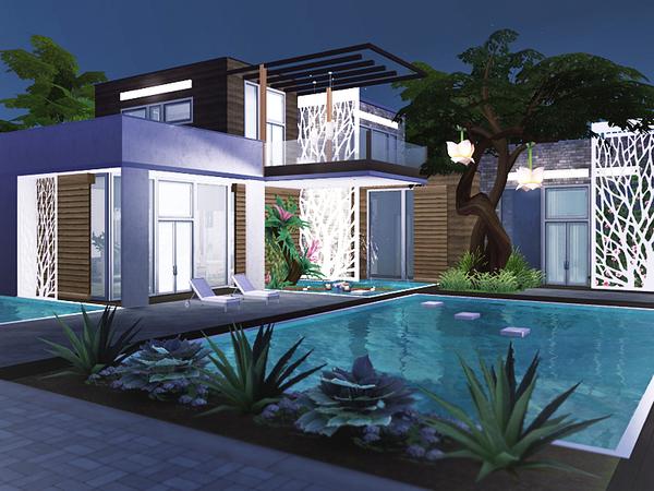 Zaina house by Rirann at TSR image 6114 Sims 4 Updates