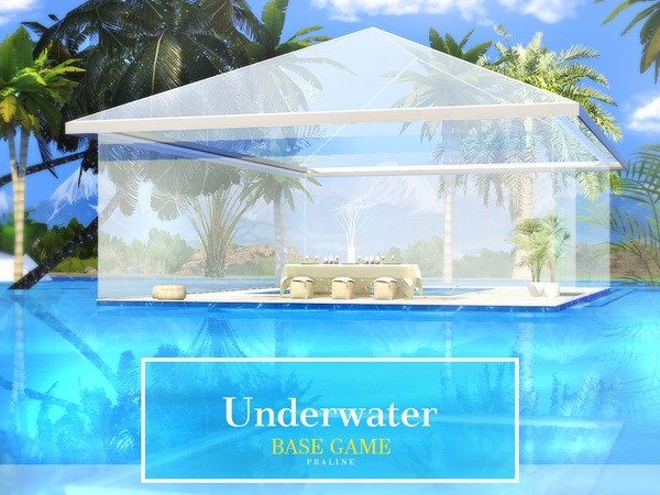 Underwater House By Pralinesims At Tsr 187 Sims 4 Updates