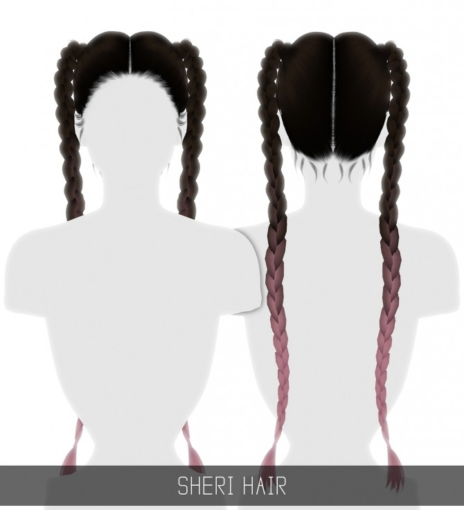 Sheri hairstyle at Simpliciaty image 6211 670x736 Sims 4 Updates