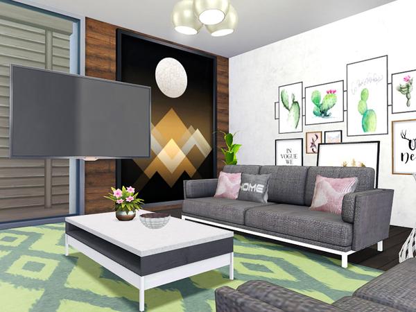 Zaina house by Rirann at TSR image 6212 Sims 4 Updates