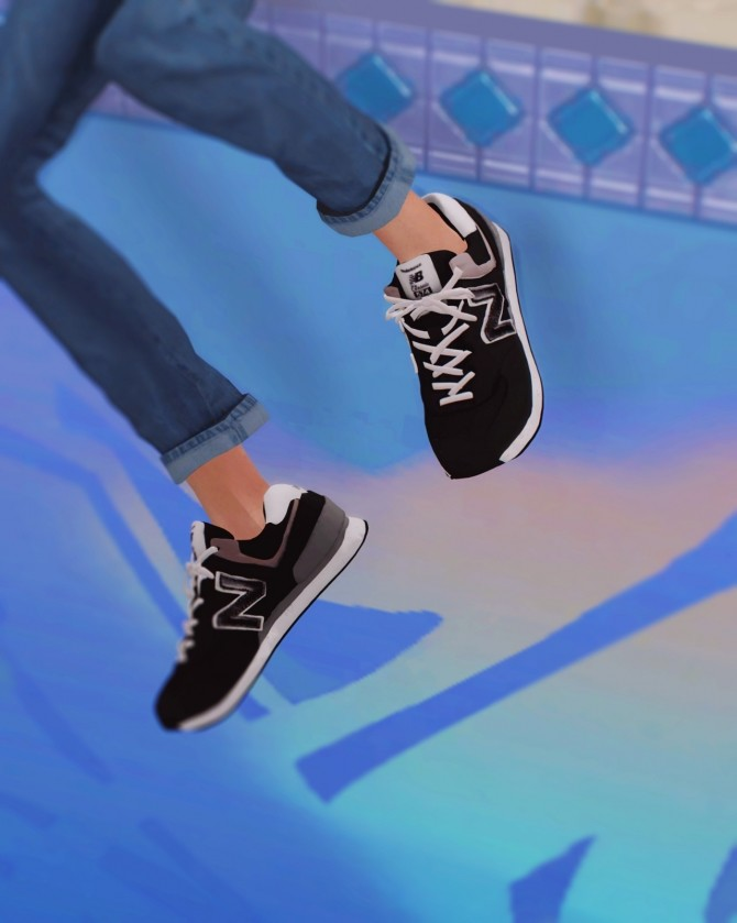 Sneakers 574 classic at Kiro image 622 670x839 Sims 4 Updates