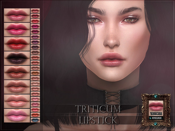 Sims 4 Triticum Lipstick by RemusSirion at TSR