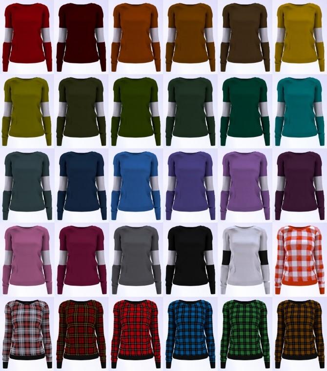Sweatshirt at LazyEyelids image 662 670x761 Sims 4 Updates