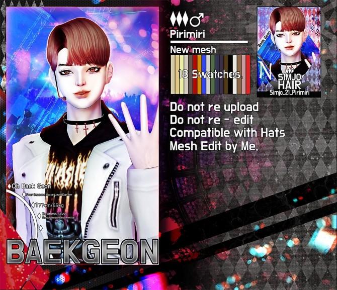 Sims 4 Pirimiri hair 21 at Kim Simjo
