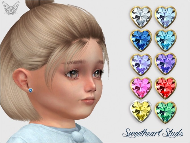 Sweetheart Studs For Toddlers at Giulietta image 6819 670x503 Sims 4 Updates
