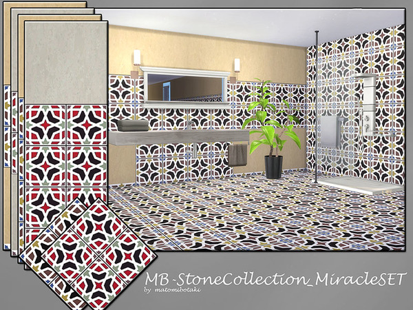 Sims 4 MB Stone Collection Miracle SET by matomibotaki at TSR