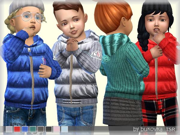 Sims 4 Down Jacket by bukovka at TSR
