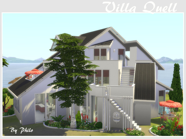 Villa Quell No CC by philo at TSR image 72 Sims 4 Updates