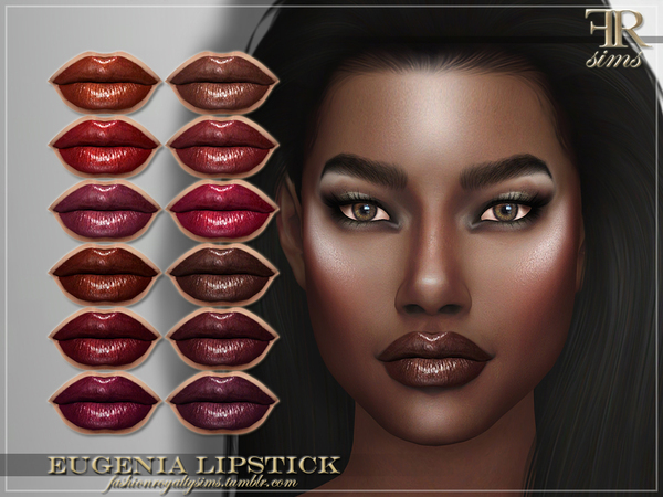 FRS Eugenia Lipstick by FashionRoyaltySims at TSR image 7217 Sims 4 Updates