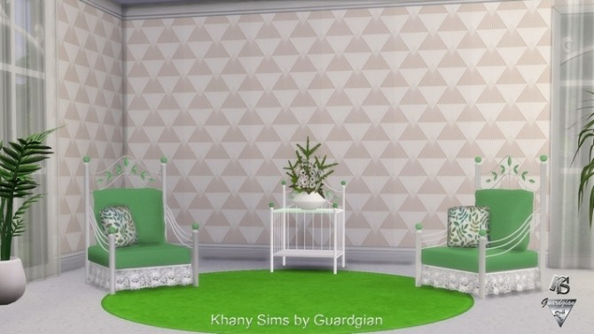 Sims 4 ORVILLE walls by Guardgian at Khany Sims