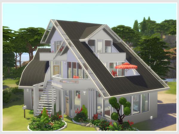 Sims 4 Villa Quell No CC by philo at TSR