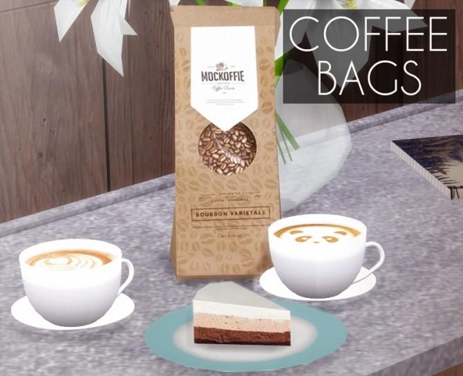 Sims 4 Coffee Bags at Descargas Sims