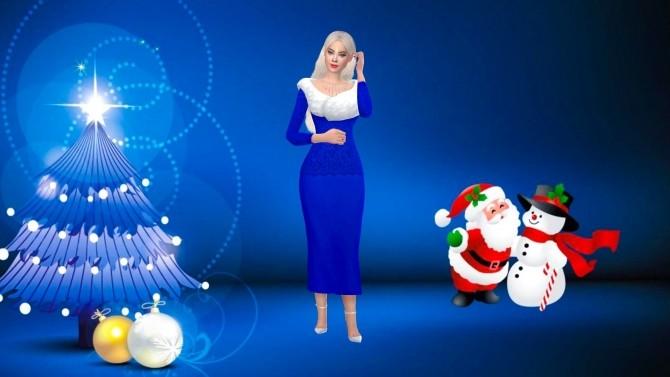 Sims 4 Winter Wonderland CAS Backgrounds at Katverse