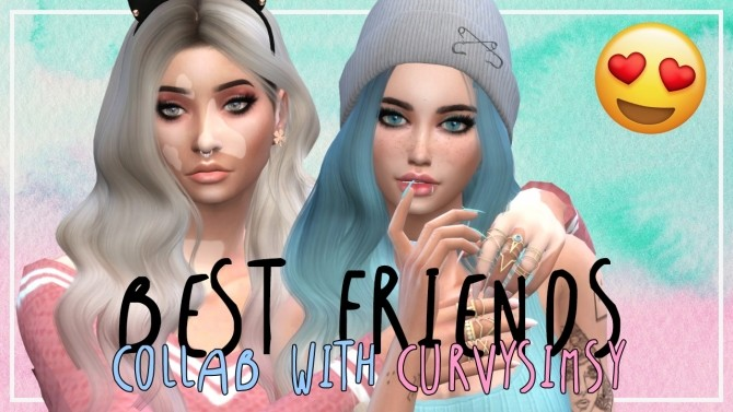 Pastel Best Friends at MODELSIMS4 image 752 670x377 Sims 4 Updates