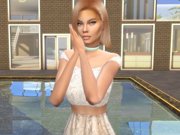 Sims 4 Lora Crump by divaka45 at TSR