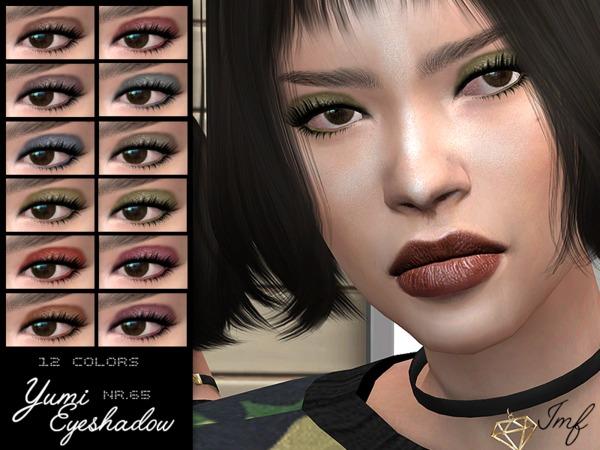 Sims 4 IMF Yumi Eyeshadow N.65 by IzzieMcFire at TSR
