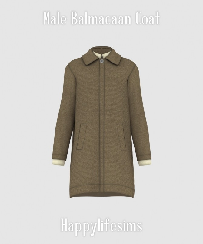 Male Balmacaan Coat at Happy Life Sims image 76 p1 670x804 Sims 4 Updates