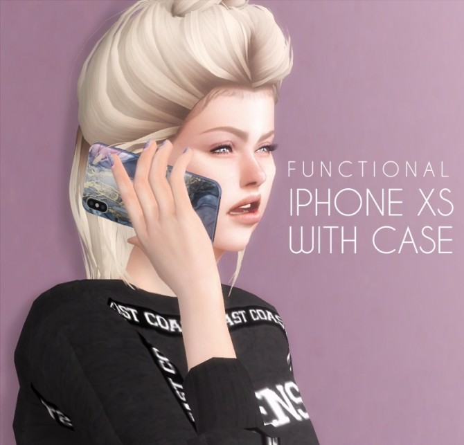 iPhone XS With Case Functional at Descargas Sims image 7820 670x643 Sims 4 Updates